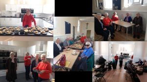 Pictures taken in newly renevated church hall on 7th October 2017 during the CAFOD Fast Day Frugal Lunch